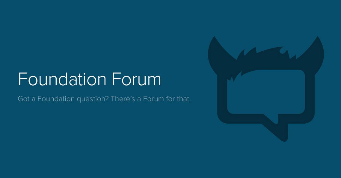 Foundation tforum