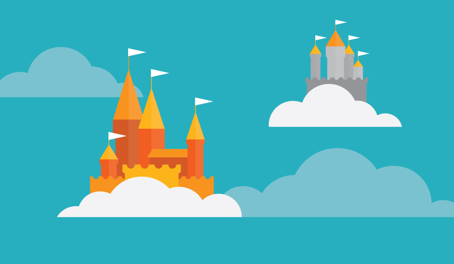 two castles in the sky