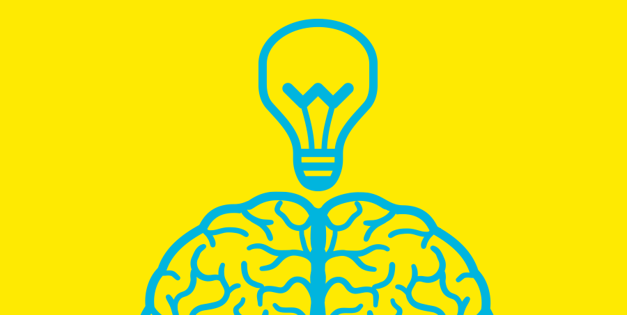 brain and lightbulb