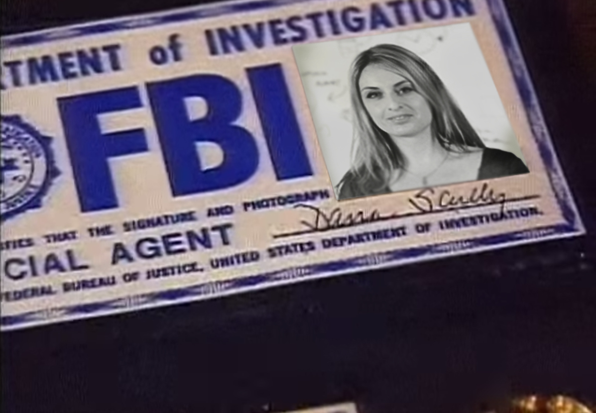 Alina is Dana Scully
