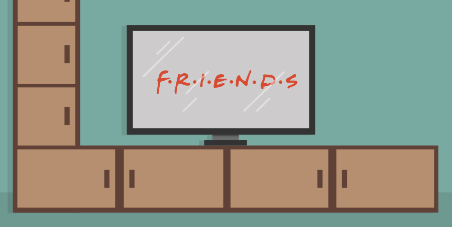 Friends on TV