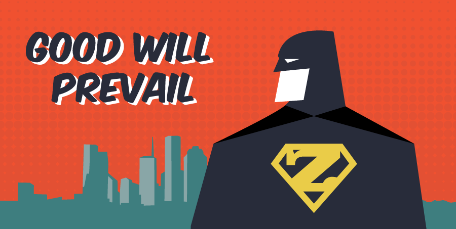 Good will prevail superhero