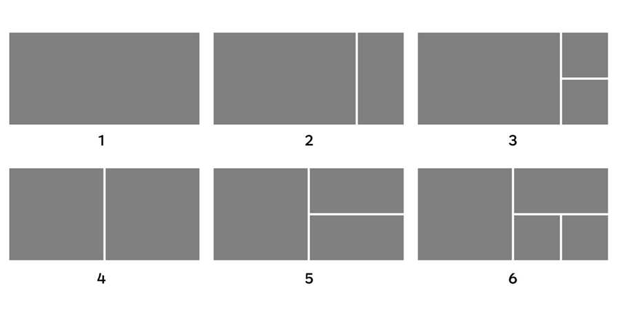 Illustration of all of the different cover image styles