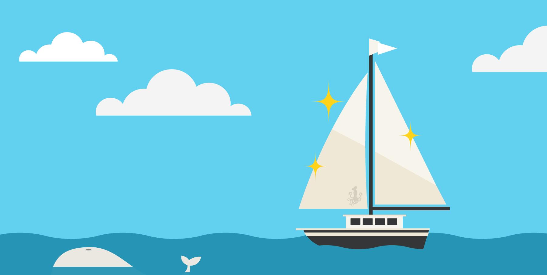 New sails illustration