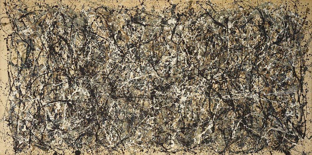 Jackson Pollock Painting