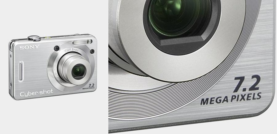 Photo of a digital camera
