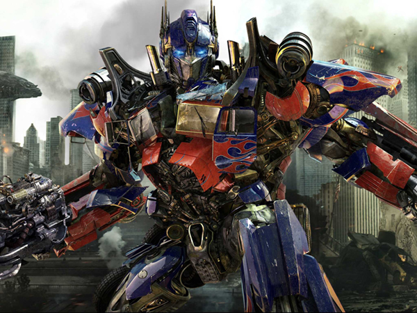 The Transformer Optimus Prime