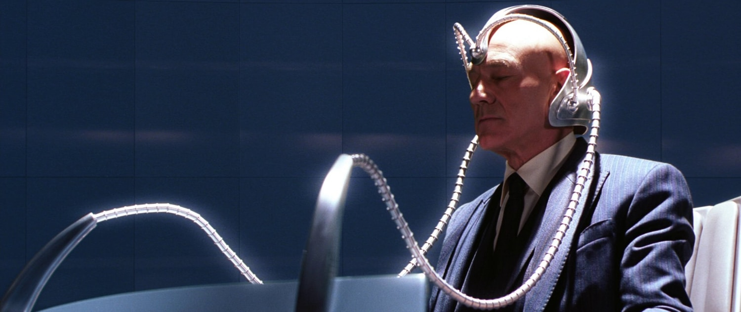 Image of Professor X in Cerebro