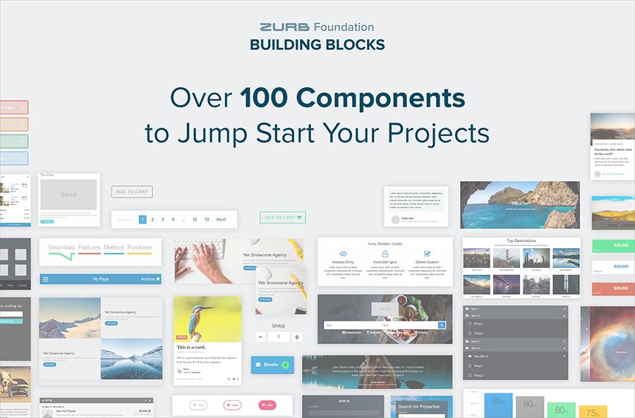 ZURB - Foundation Building Blocks
