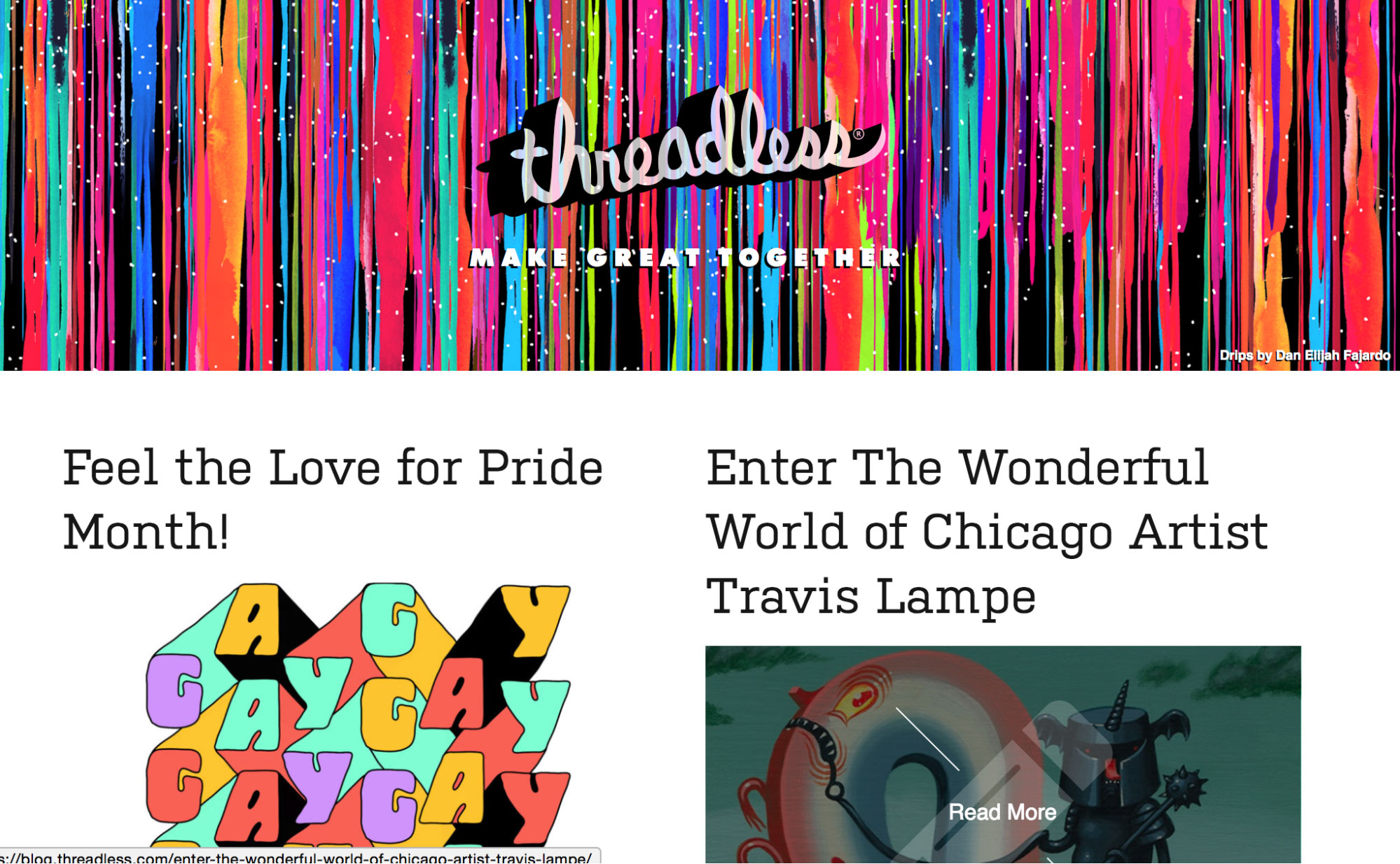 Threadless Blog