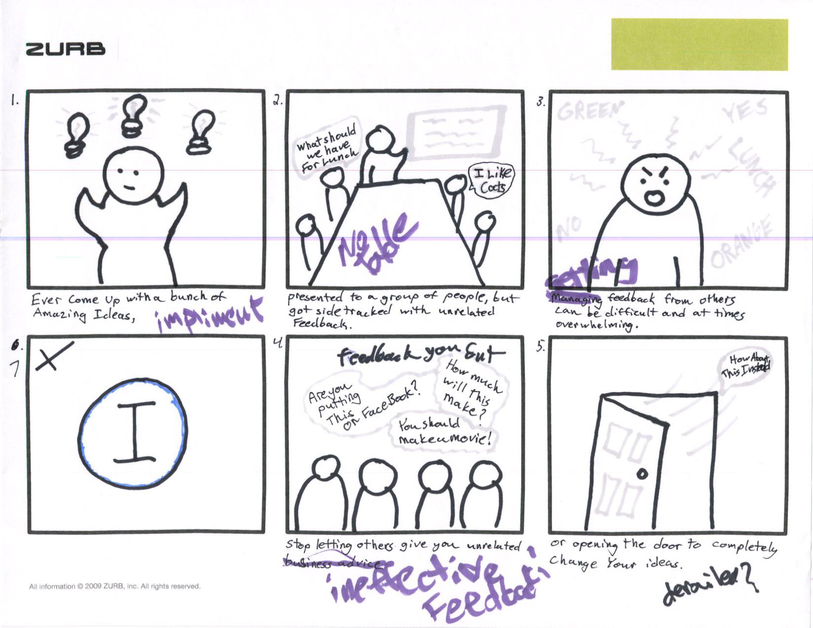 Website Design Storyboard Examples