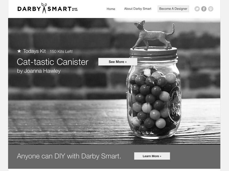 Darby Smart wireframes