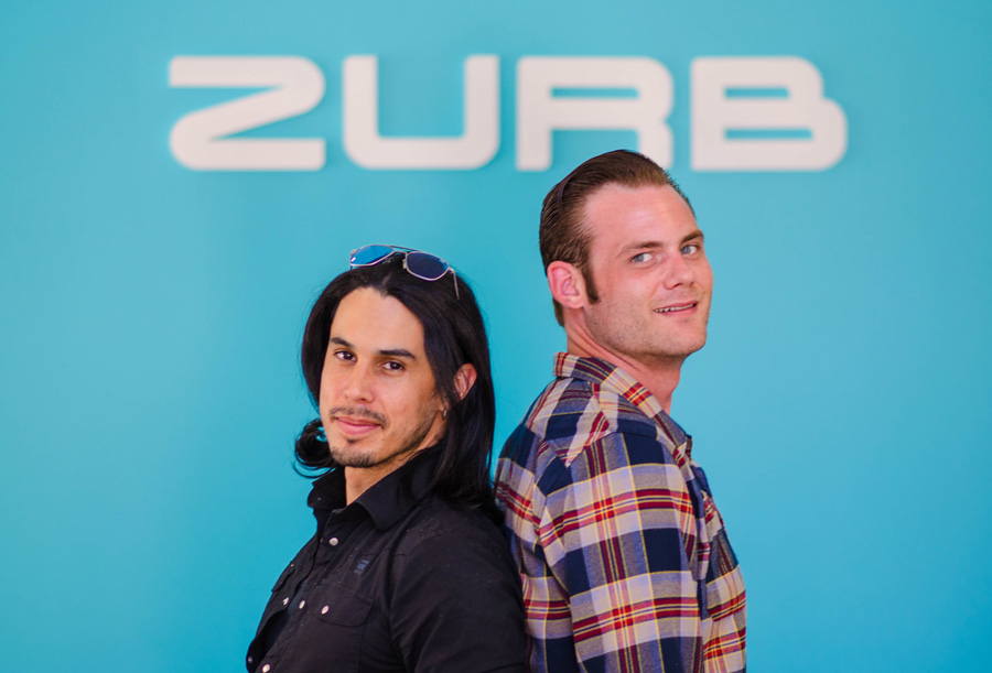 photo of our new team members at ZURB world headquarters