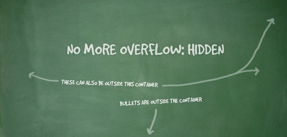Overflow: Hidden No More